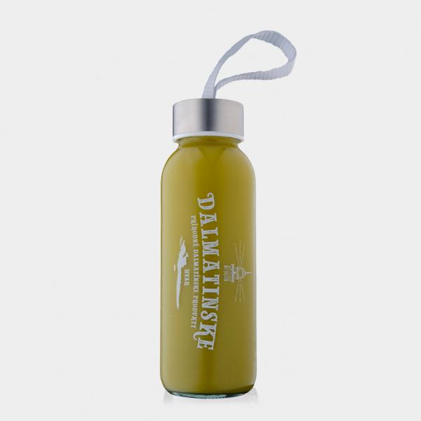 Mandarínková šťava s kôrou a BIO zeleným čajom matcha – READY TO DRINK