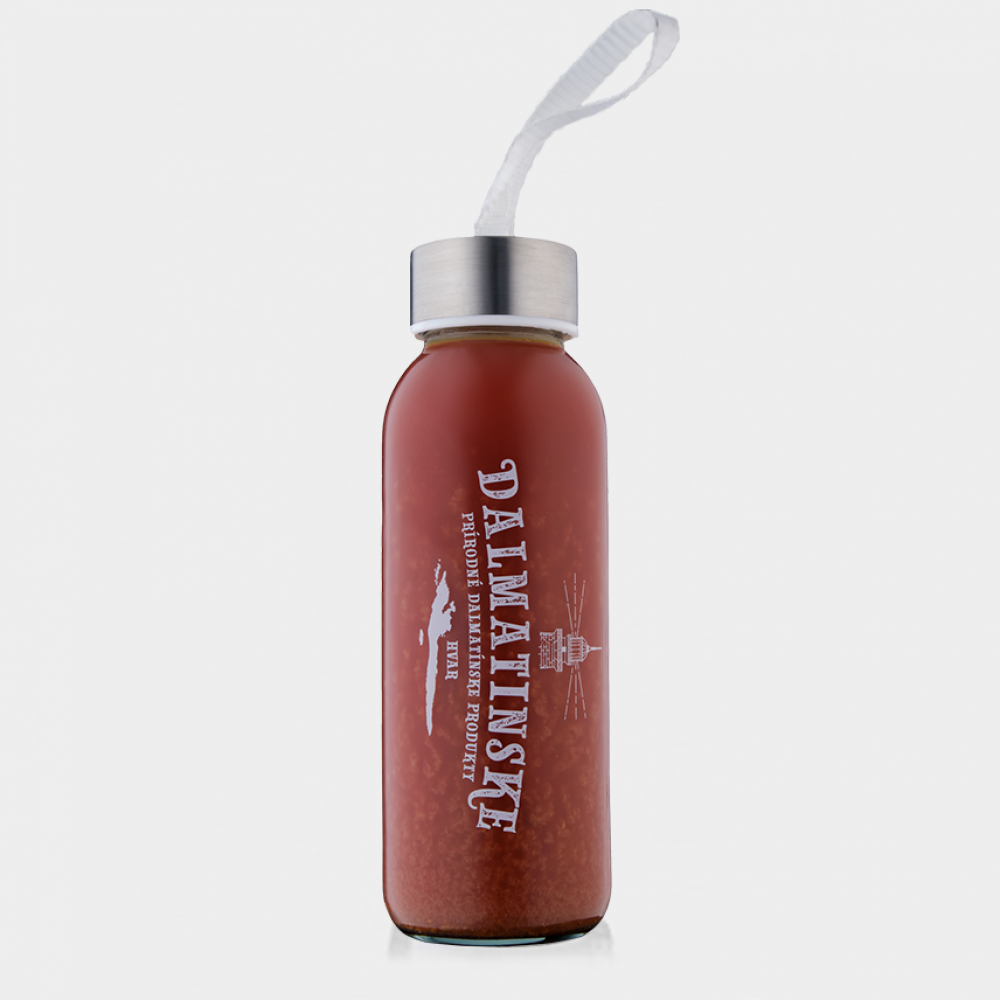 Mandarínková šťava s kôrou a granátovým jablkom – READY TO DRINK