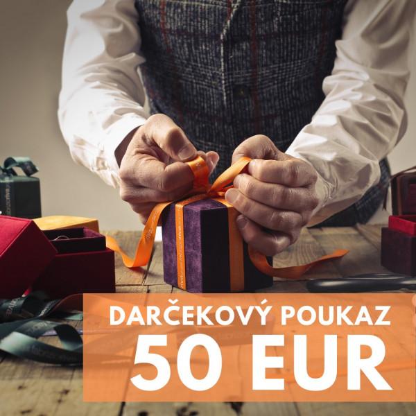 Darčekový poukaz 50 EUR