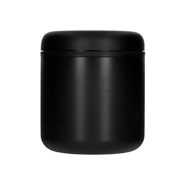 Vákuová dóza na zrnkovú kávu 0,7l Matte Black Steel