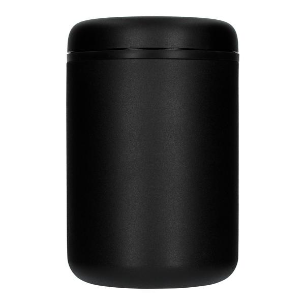 Vákuová dóza na zrnkovú kávu 1,2l Matte Black Steel