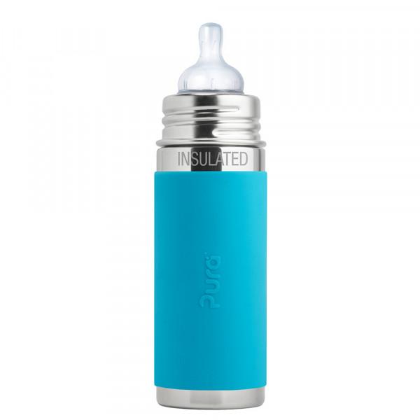 Pura TERMO dojčenská fľaša 260ml / Aqua