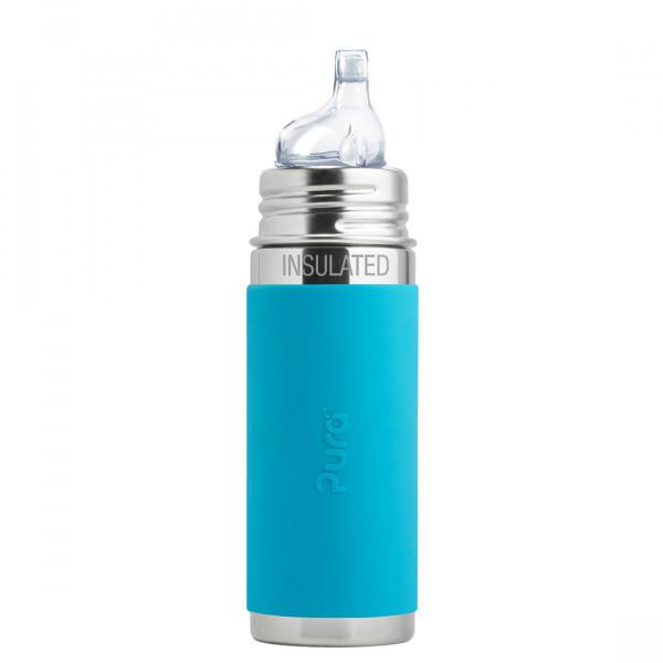 Pura TERMO fľaša s náustkom 260ml / Aqua