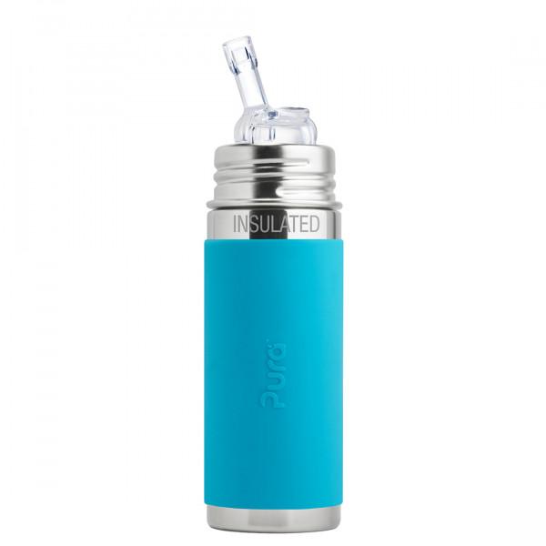 Pura TERMO fľaša so slamkou 260ml / Aqua