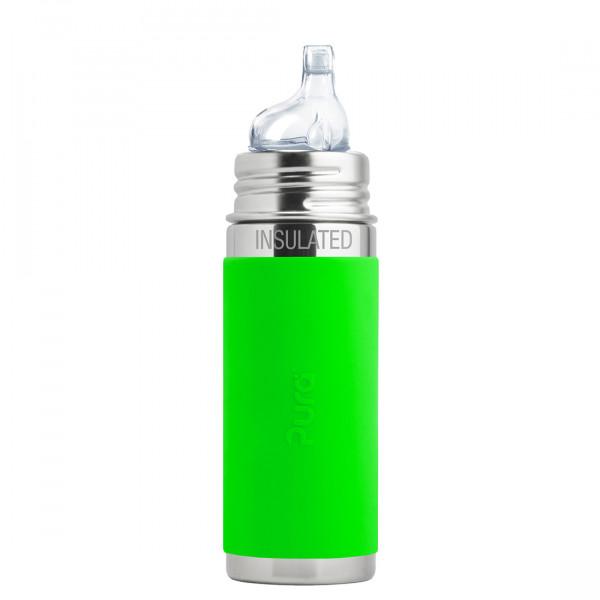 Pura TERMO fľaša s náustkom 260ml / Zelená