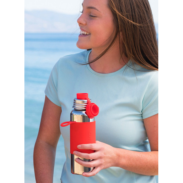 Pura nerezová fľaša so športovým uzáverom 850ml / Modrá