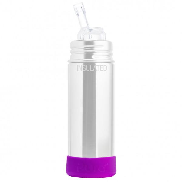 Pura silikónový chránič na fľašu - 150ml, 260ml, 325ml / Fialová