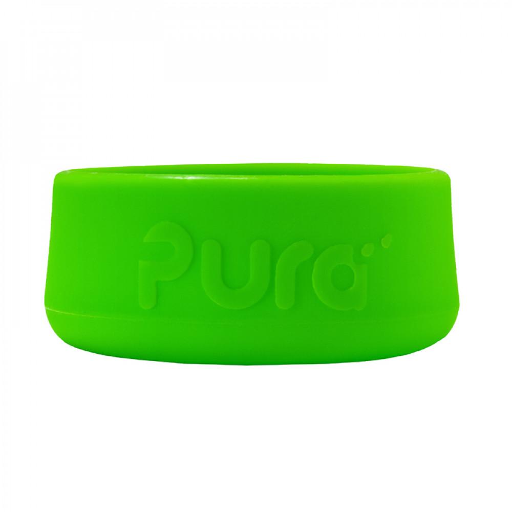 Pura silikónový chránič na fľašu - 150ml, 260ml, 325ml / Zelená