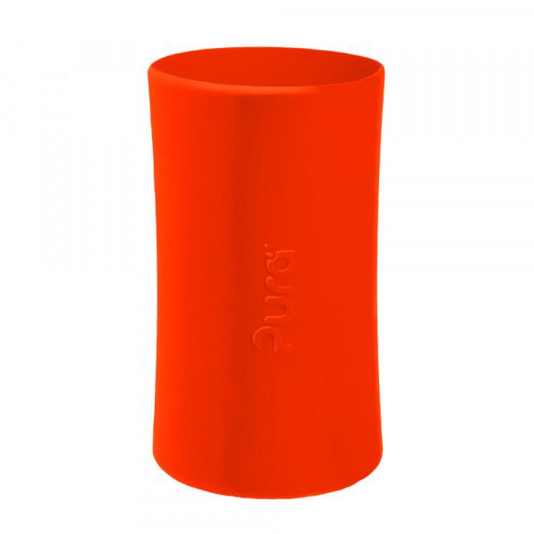 Pura silikónový návlek na fľašu - 260ml, 325ml / Oranžová