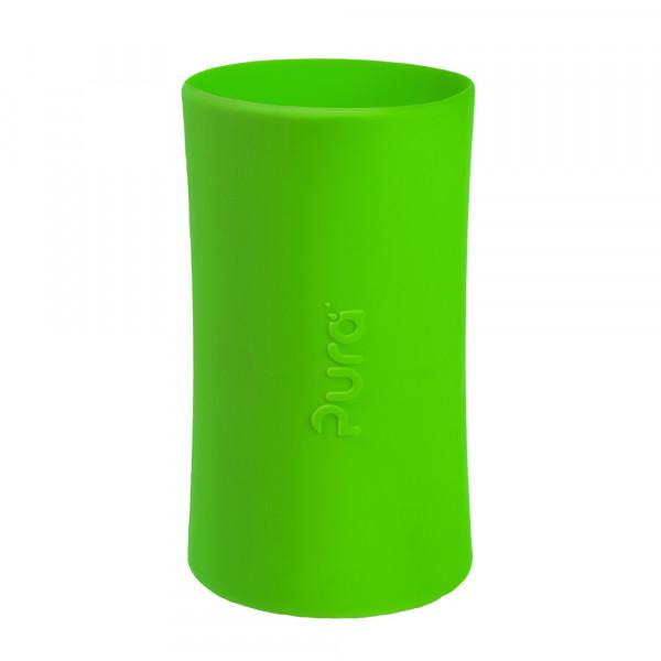 Pura silikónový návlek na fľašu - 260ml, 325ml / Zelená