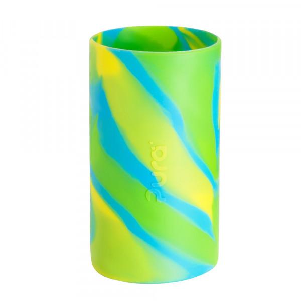 Pura silikónový návlek na fľašu - 260ml, 325ml / Zelená-aqua