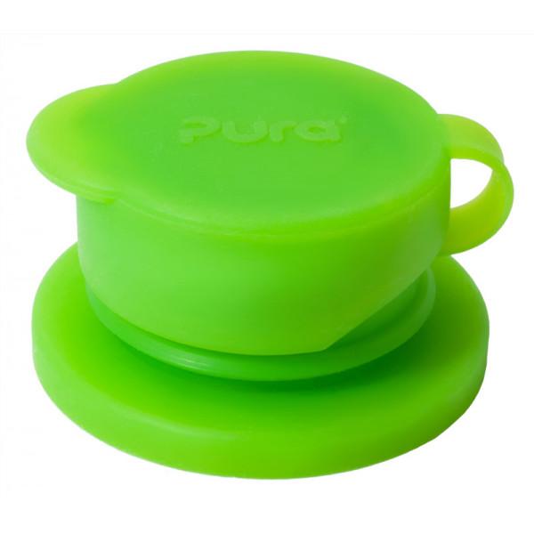 Pura Big Mouth silikónový športový uzáver / Zelená