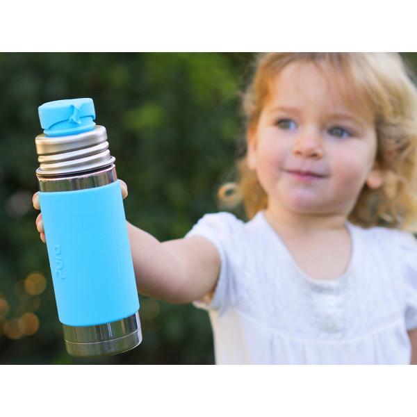 Pura TERMO fľaša so športovým uzáverom 260ml / Aqua