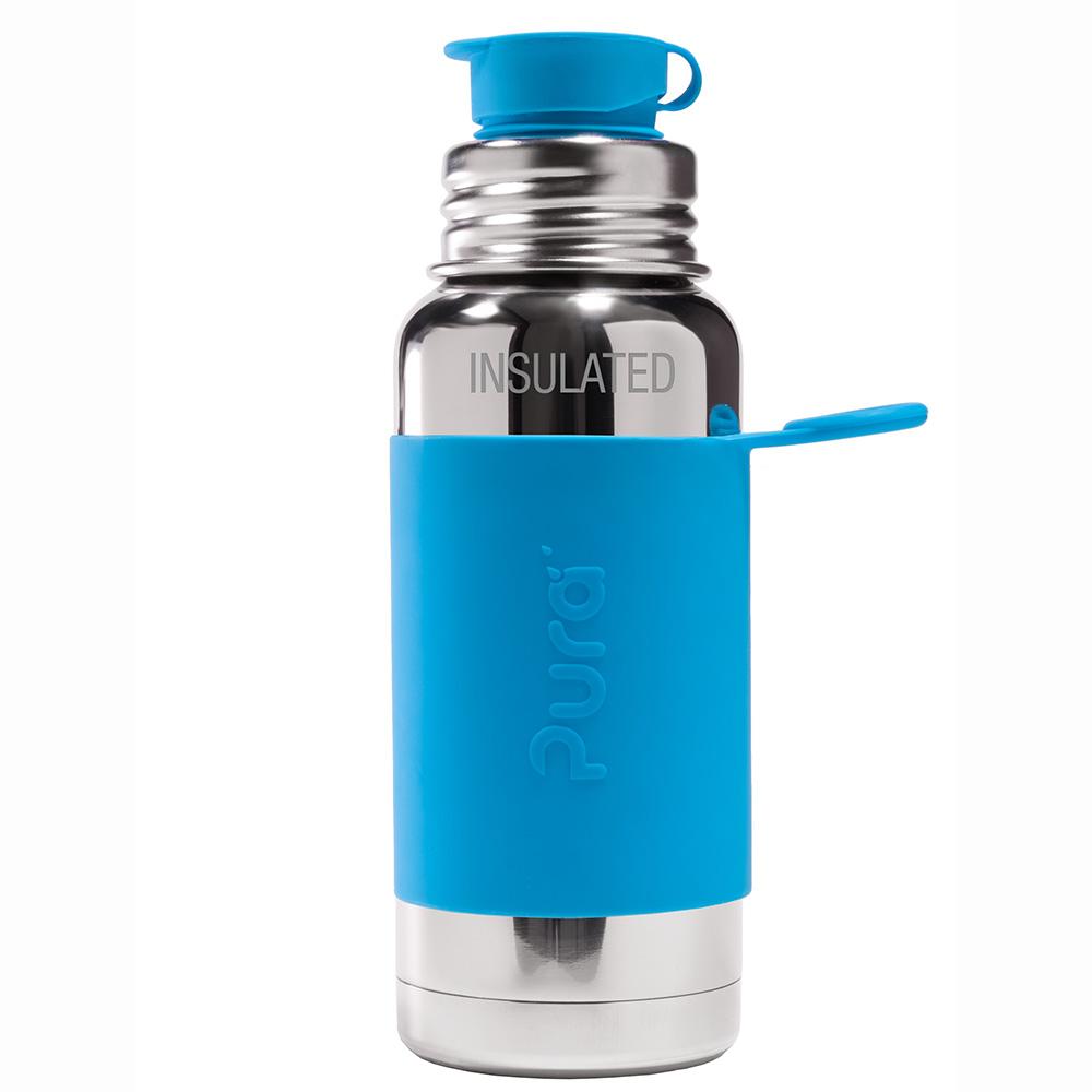 Pura TERMO fľaša so športovým uzáverom 475ml / Aqua