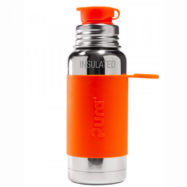 Pura TERMO fľaša so športovým uzáverom 475ml / Oranžová