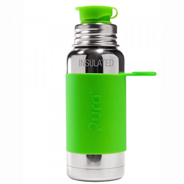 Pura TERMO fľaša so športovým uzáverom 475ml / Zelená