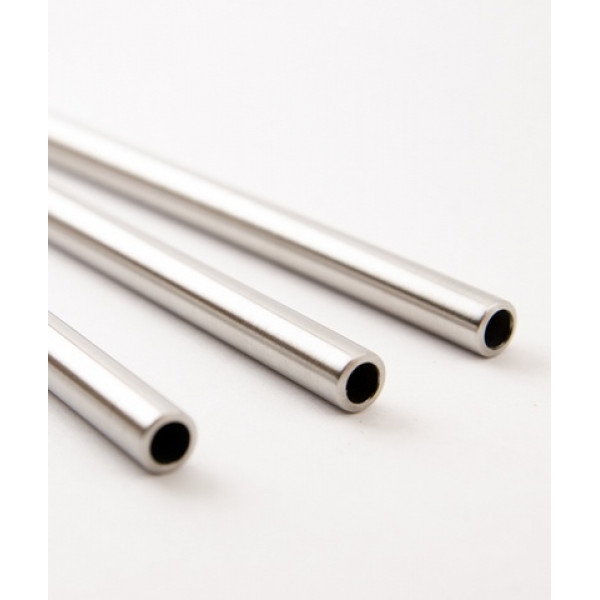 Nezerová slamka 6 mm / KeepCup Straw - Stainless Straight