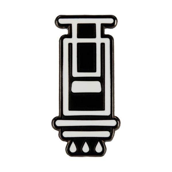 AeroPress - ozdobný pin pre skutočného kávičkára / 2,5 cm