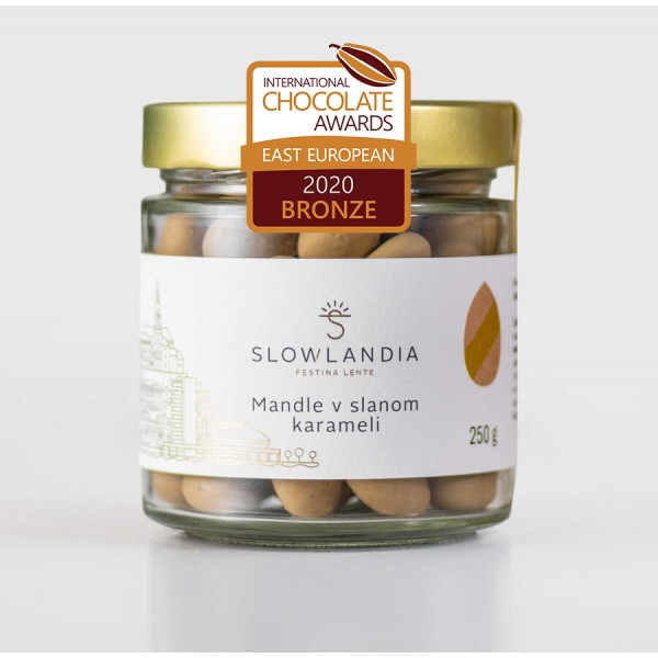 Mandle v slanom karameli 250g