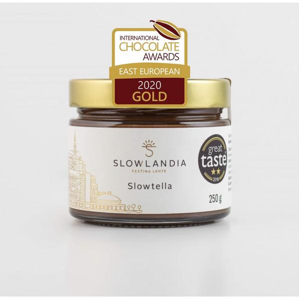 Slowtella – Lieskovcovo-kakaový krém 250g