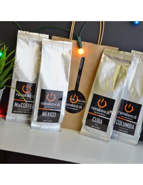 Degustácia káv rôznych druhov / 4x125g